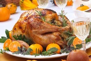 White Wine & Herb Honey Roasted Turkey
